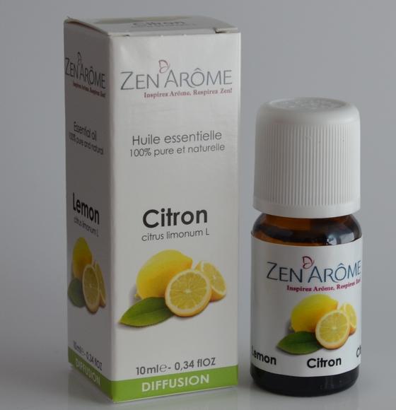 Zen ArÔme Huiles essentielles au citron