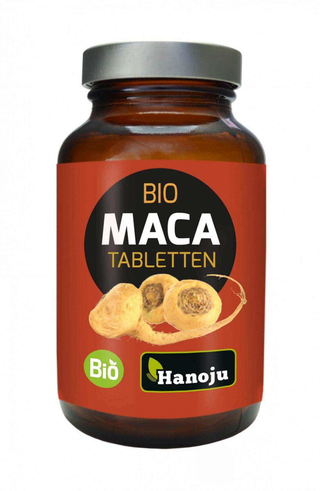 Hanoju Maca Rouge Bio - 300 comprimés