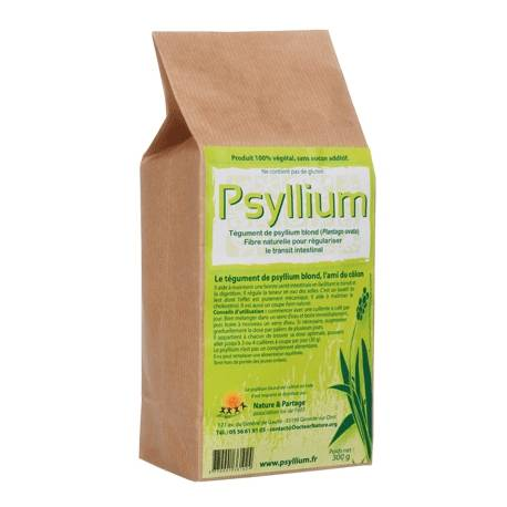 Nature Et Partage Tégument de Psyllium Blond - 300 g