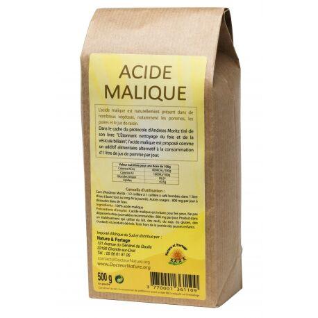 Nature Et Partage Acide malique - 500 g