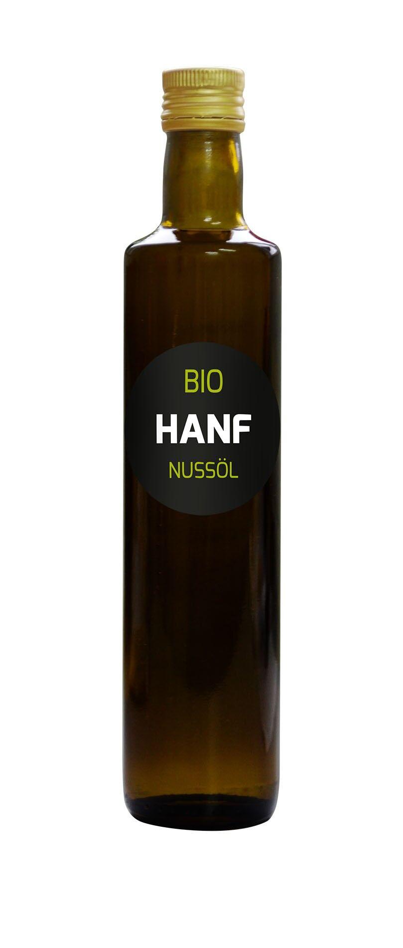 Hanoju Huile de Chanvre Bio - 250 ml