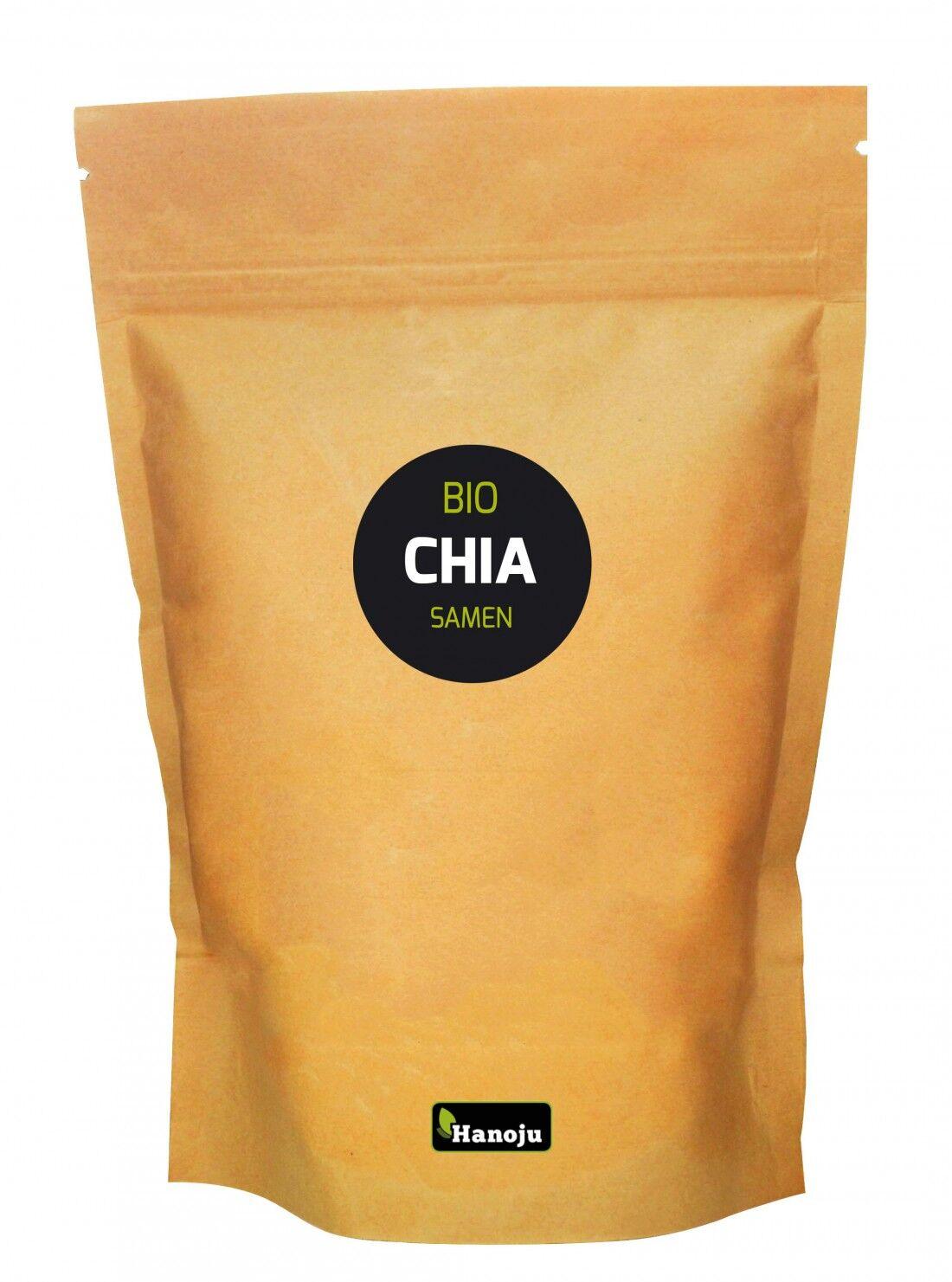 Hanoju Graines de Chia Brun bio - Salvia Hispanica L. - 2 kg