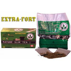Nature Slim Tea Extra Forte (30 infusettes) - Publicité