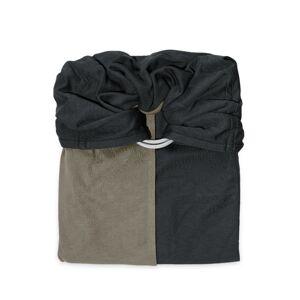 je porte mon bébé Écharpe de portage Sans Nœud JPMBB Anthracite - Olive - Publicité