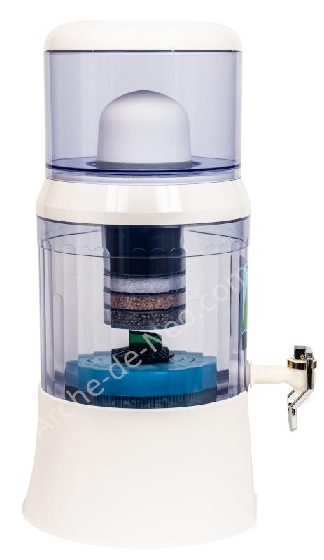EVA WATER Fontaine Filtrante EVA avec IRL et Magnétisation - 700 BEP
