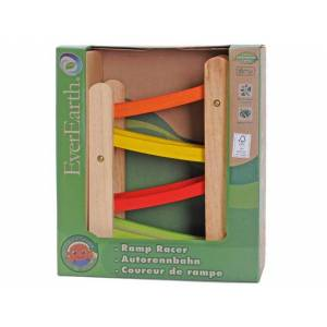 Everearth Rampe de Course - Everearth - Jouet en bois