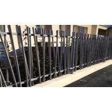 NAO Clôture en acier bambou sur mesure - L2500 X H1500 mm - NAO