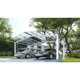 NAO Carport Aluminium Design Double
