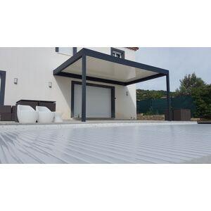 NAO Pergola bioclimatique en aluminium 4.03m x 1m