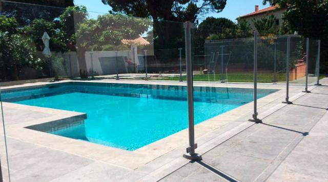 NAO Balustrade - cloture pour piscine en verre
