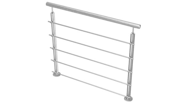 NAO Balustrade Aluminium NAO 5 lisses