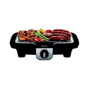 TEFAL Barbecue électrique sur pied TEFAL BG931812 Easy Grill 2 en 1 - Publicité