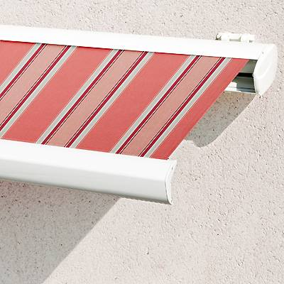 Store Banne Coffre Terrasse Toiles Rayures Fantaisies
