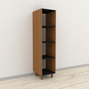 MYCS Range CD - Chêne, design contemporain, meuble pour vinyles, DVD - 41 x 168 x 47 cm, personnalisable - Publicité