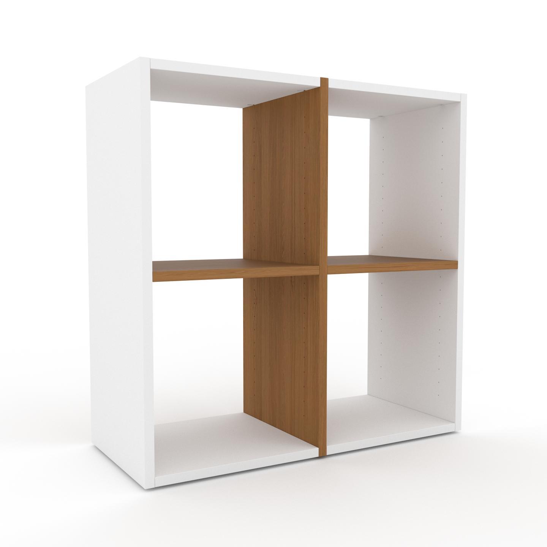 MYCS Étagère - Blanc, design, rangements de qualité, fonctionnels - 79 x 80 x 35 cm, configurable