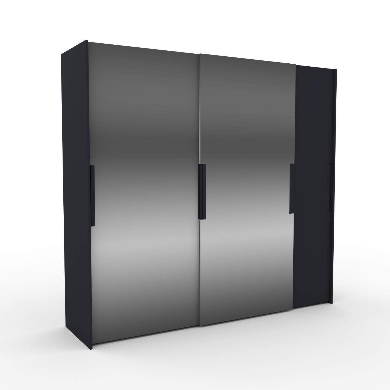 MYCS Dressing - Miroir, design, armoire penderie pour chambre ou entrée, haut de gamme, avec portes coulissantes - 254 x 233 x 65 cm, modulable