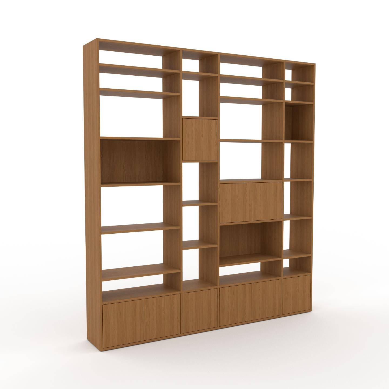 MYCS Placard - Chêne, contemporain, rangements, avec porte Chêne - 229 x 253 x 35 cm, modulable