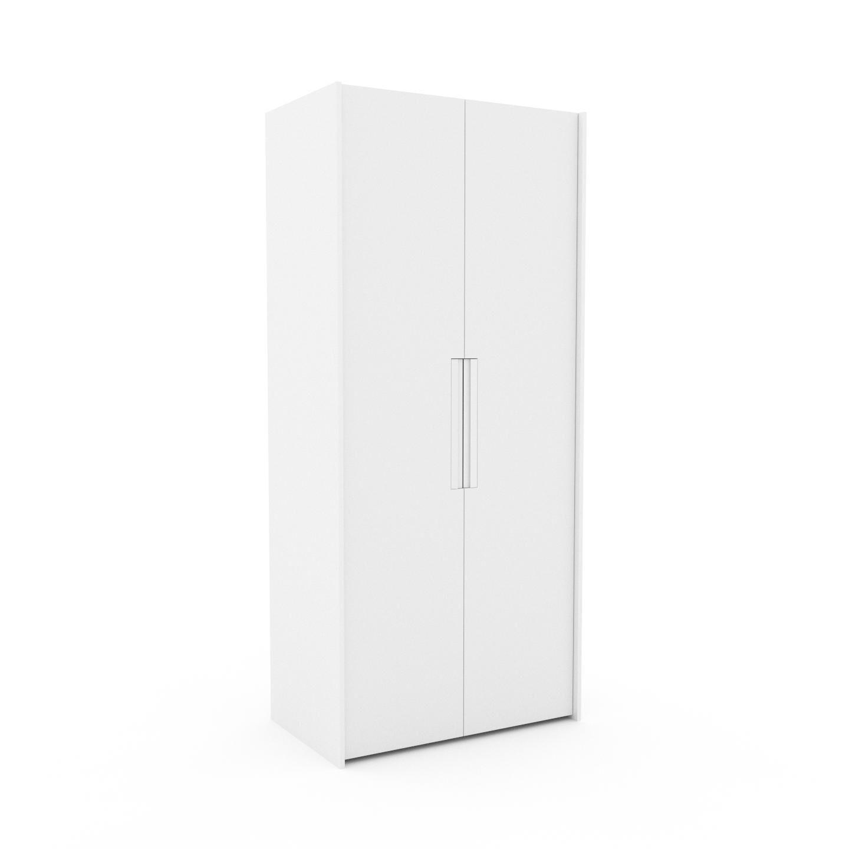 MYCS Dressing - Blanc, design, armoire penderie pour chambre ou entrée, à portes battantes - 104 x 233 x 62 cm, modulable