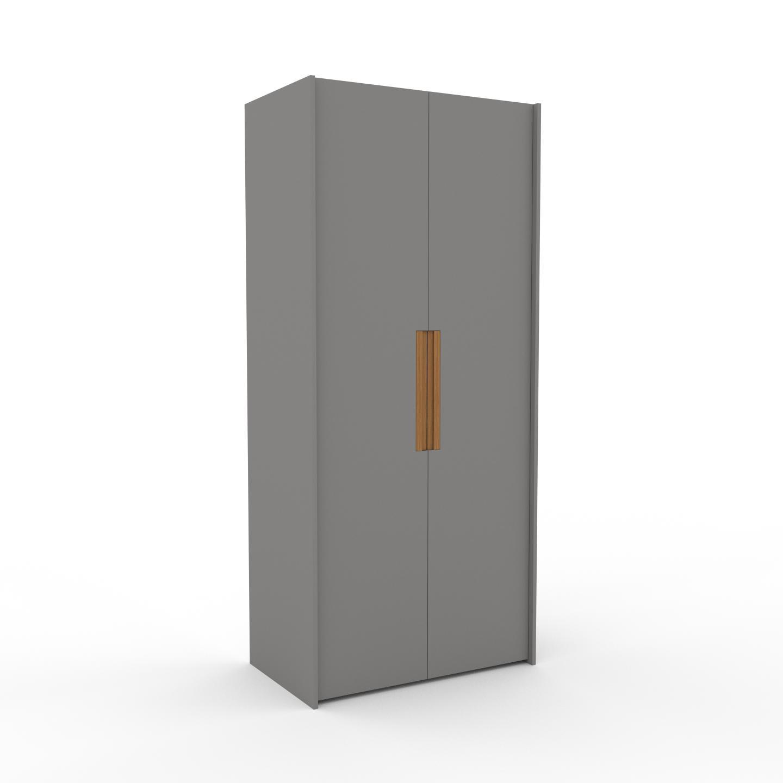 MYCS Dressing - Gris, design, armoire penderie pour chambre ou entrée, à portes battantes - 104 x 233 x 62 cm, modulable