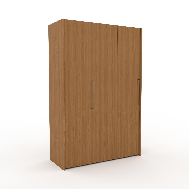 MYCS Dressing - Chêne, design, armoire penderie pour chambre ou entrée, à portes battantes - 154 x 233 x 62 cm, modulable
