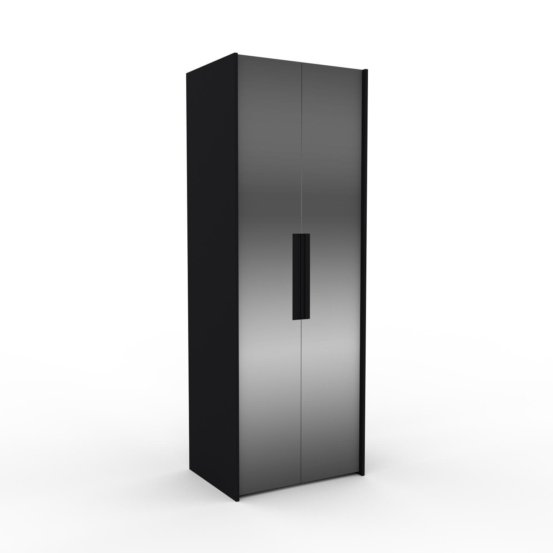 MYCS Dressing - Miroir, design, armoire penderie pour chambre ou entrée, à portes battantes - 84 x 233 x 62 cm, modulable