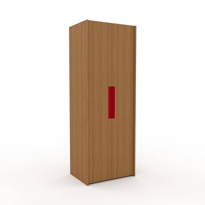 MYCS Dressing - Chêne, design, armoire penderie pour chambre ou entrée, à portes battantes - 84 x 233 x 62 cm, modulable