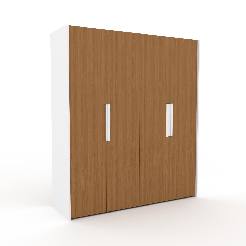 MYCS Dressing - Chêne, design, armoire penderie pour chambre ou entrée, à portes battantes - 204 x 233 x 62 cm, modulable