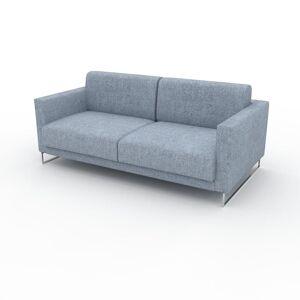 MYCS Canapé 2 places - Bleu Glacier, design épuré, petit canapé deux personnes, élégant - 184 x 75 x 98 cm, modulable - Publicité