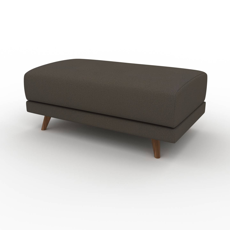 MYCS Pouf - Brun Chocolat, design épuré, 100 x 42 x 60 cm, modulable
