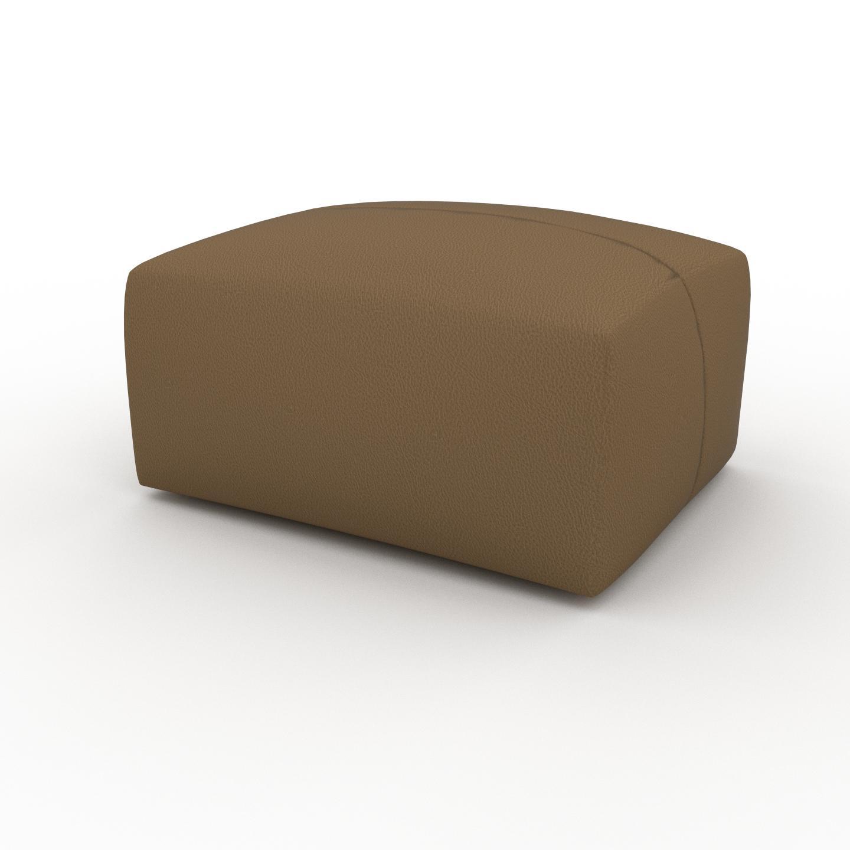 MYCS Pouf - Noix, design épuré, 80 x 42 x 64 cm, modulable