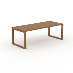 MYCS Table - Chêne, design, plateau de table raffiné - 220 x 75 x 90 cm, personnalisable - Publicité