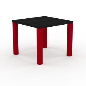 MYCS Table à manger - Wengé, design, pour salle à manger ou cuisine plateau de qualité - 90 x 76 x 90 cm, personnalisable - Publicité