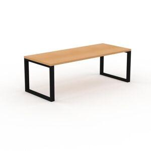 MYCS Table - Hêtre, design, plateau de table raffiné - 220 x 75 x 90 cm, personnalisable - Publicité