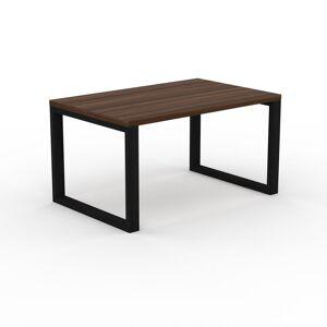 MYCS Table - Noyer, design, plateau de table raffiné - 140 x 75 x 90 cm, personnalisable - Publicité