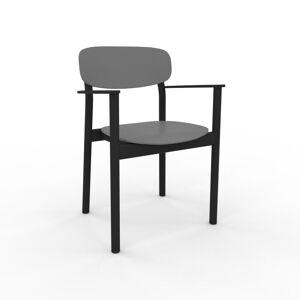 MYCS Chaise de salle à manger gris de 52 x 82 x 58 cm au design unique, configurable - Publicité