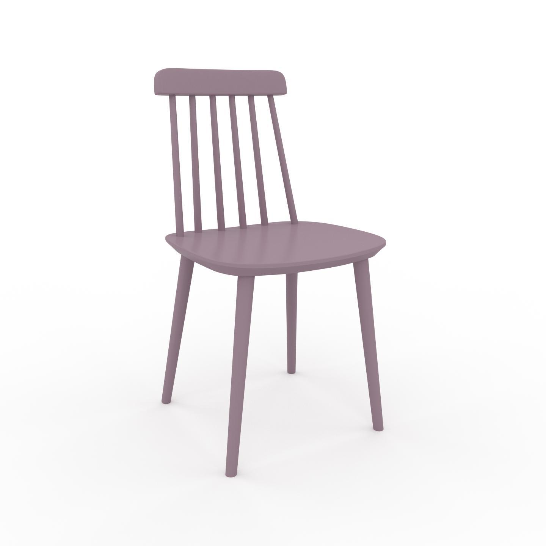 MYCS Chaise de salle à manger Rose poudré de 43 x 82 x 44 cm au design unique, configurable