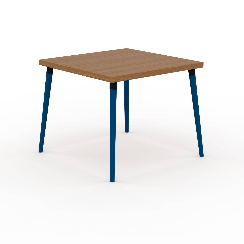 MYCS Table à manger - Chêne, design scandinave, pour salle à manger ou cuisine nordique - 90 x 75 x 90 cm, personnalisable