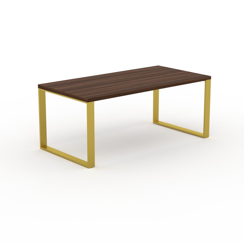 MYCS Table à manger - Noyer, design, pour salle à manger ou cuisine plateau de qualité - 180 x 75 x 90 cm, personnalisable