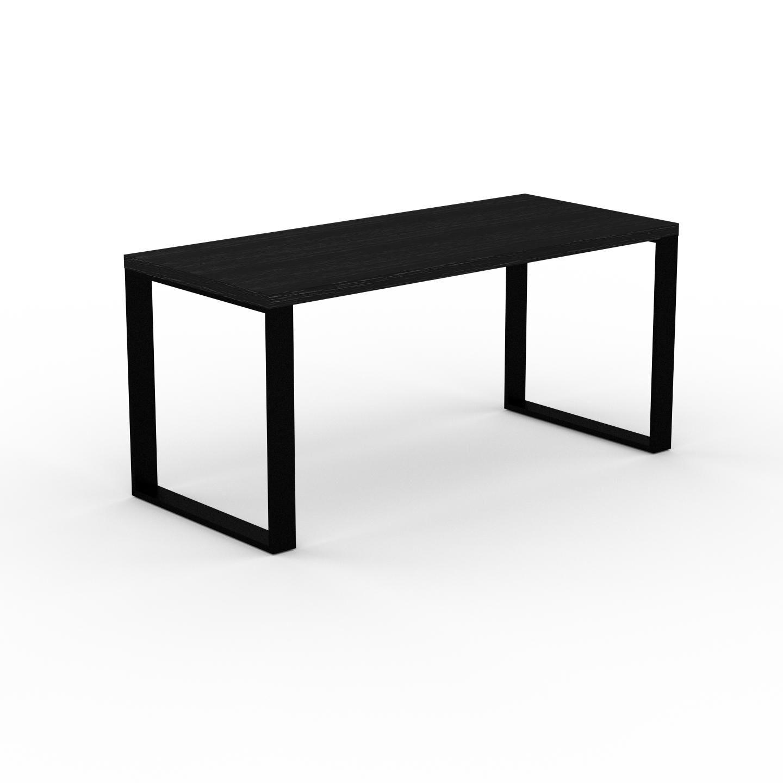 MYCS Table à manger - Wengé, design, pour salle à manger ou cuisine plateau de qualité - 160 x 75 x 70 cm, personnalisable