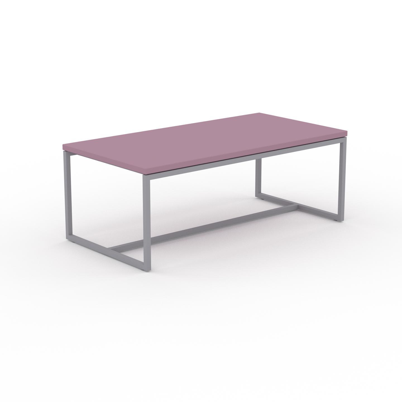 MYCS Table basse - Rose poudré, design, bout de canapé sophistiqué - 81 x 31 x 42 cm, personnalisable