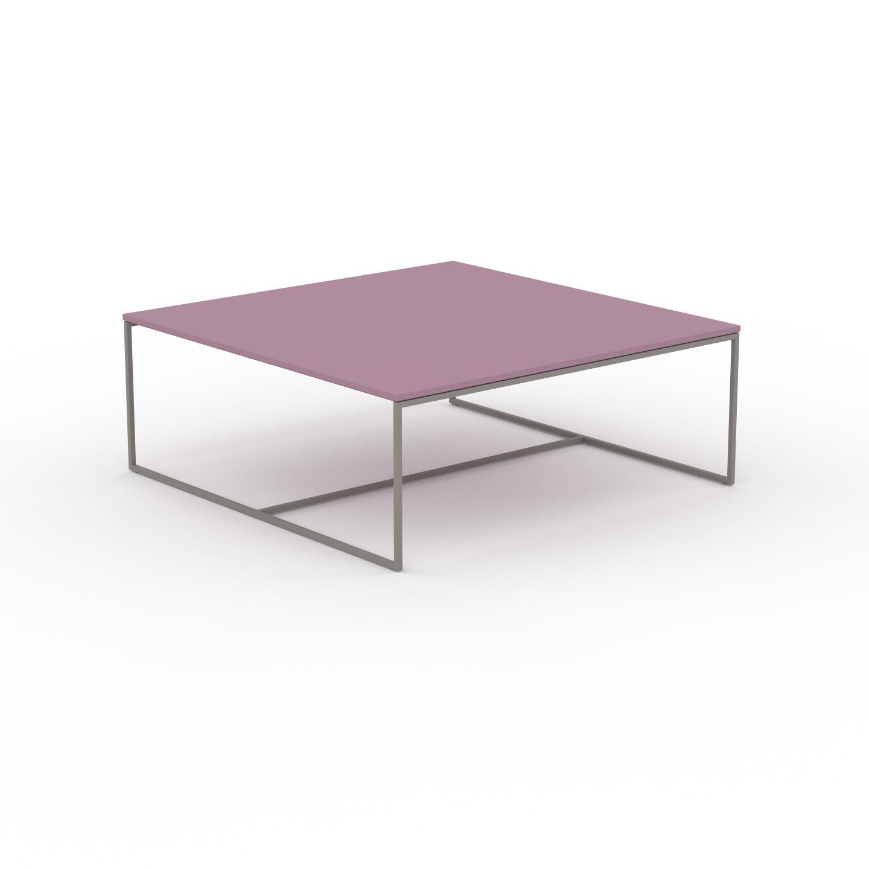 MYCS Table basse - Rose poudré, design, bout de canapé sophistiqué - 121 x 46 x 121 cm, personnalisable