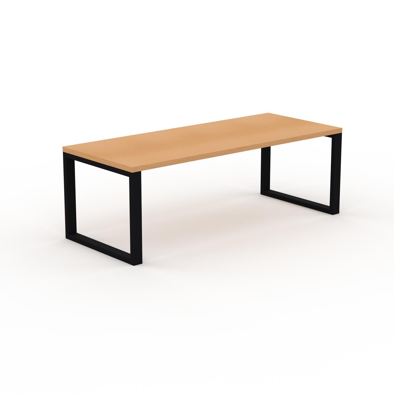 MYCS Table à manger - Hêtre, design, pour salle à manger ou cuisine plateau de qualité - 220 x 75 x 90 cm, personnalisable