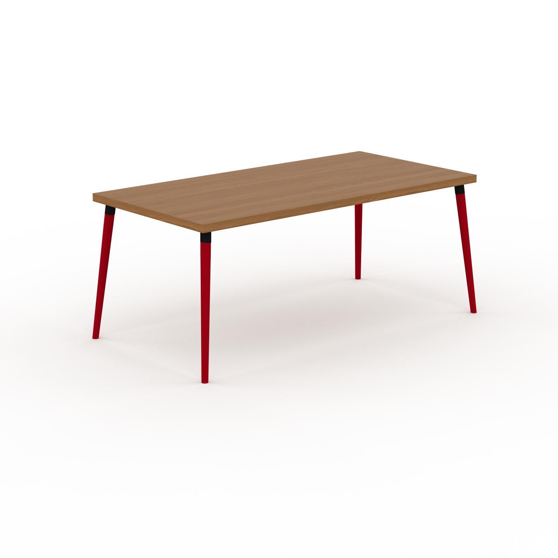 MYCS Table à manger - Chêne, design scandinave, pour salle à manger ou cuisine nordique - 180 x 75 x 90 cm, personnalisable