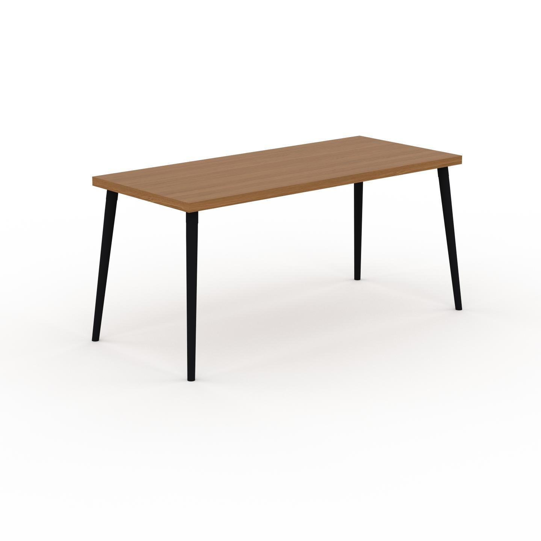 MYCS Table à manger - Chêne, design scandinave, pour salle à manger ou cuisine nordique - 160 x 75 x 70 cm, personnalisable
