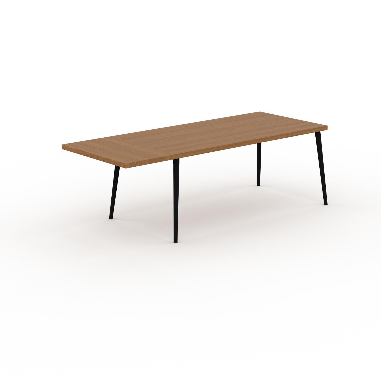 MYCS Table à manger - Chêne, design scandinave, pour salle à manger ou cuisine nordique, table extensible à rallonge - 230 x 75 x 90 cm