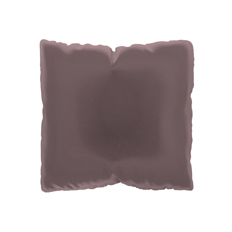 MYCS Coussin Rose Poudré - 40x40 cm - Housse en Velours. Coussin de canapé moelleux