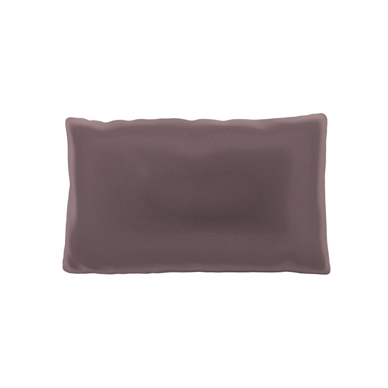 MYCS Coussin Rose Poudré - 30x50 cm - Housse en Velours. Coussin de canapé moelleux