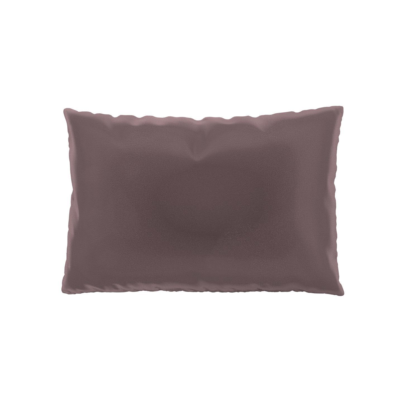 MYCS Coussin Rose Poudré - 40x60 cm - Housse en Velours. Coussin de canapé moelleux
