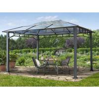 Intent24.fr Tonnelle de jardin 3x4m plaque polycarbonate 8 mm gris imperméable <br /><b>1299.99 EUR</b> INTENT24