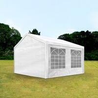 Intent24.fr Tente de réception 3x4m PE 180g/m² blanc imperméable barnum, chapiteau <br /><b>229.95 EUR</b> INTENT24